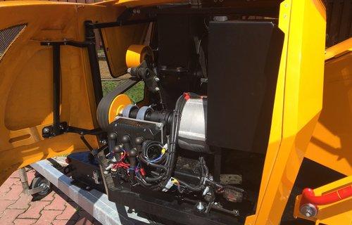 Scheibenhacker bis 16 cm Stammholzdicke, Elektro-Motor