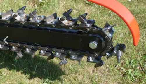 Grabenfräse mit Fahrantrieb