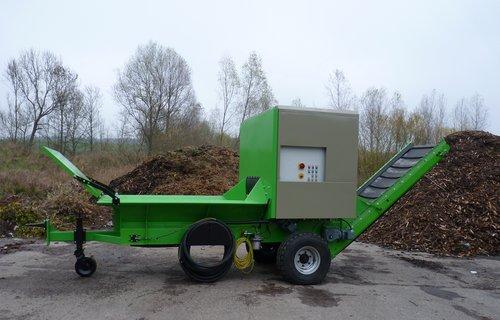 Shredder (stationär) zur Zerkleinerung von Rüben, Kartoffel, Karotten, etc.