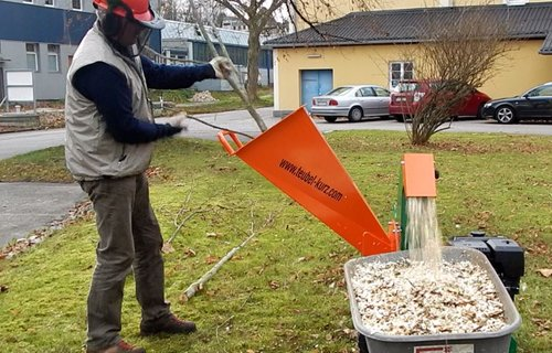 Profi Gartenhäcksler bis max. 8 cm Stammholzdicke