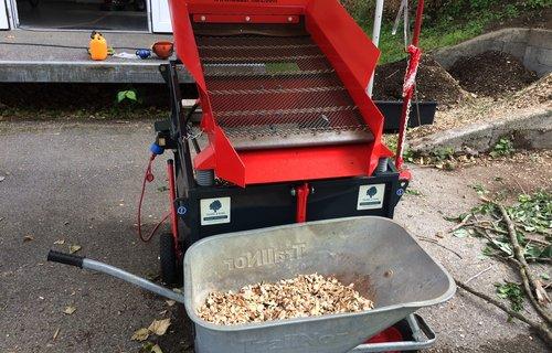 Rüttelsieb für die Hauskompostierung, etc.